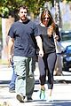 christian bale sibi blazic step out for lunch 09