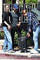 chace crawford and rebecca rittenhouse step out for breakfast and furniture shopping 04