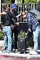 chace crawford and rebecca rittenhouse step out for breakfast and furniture shopping 18