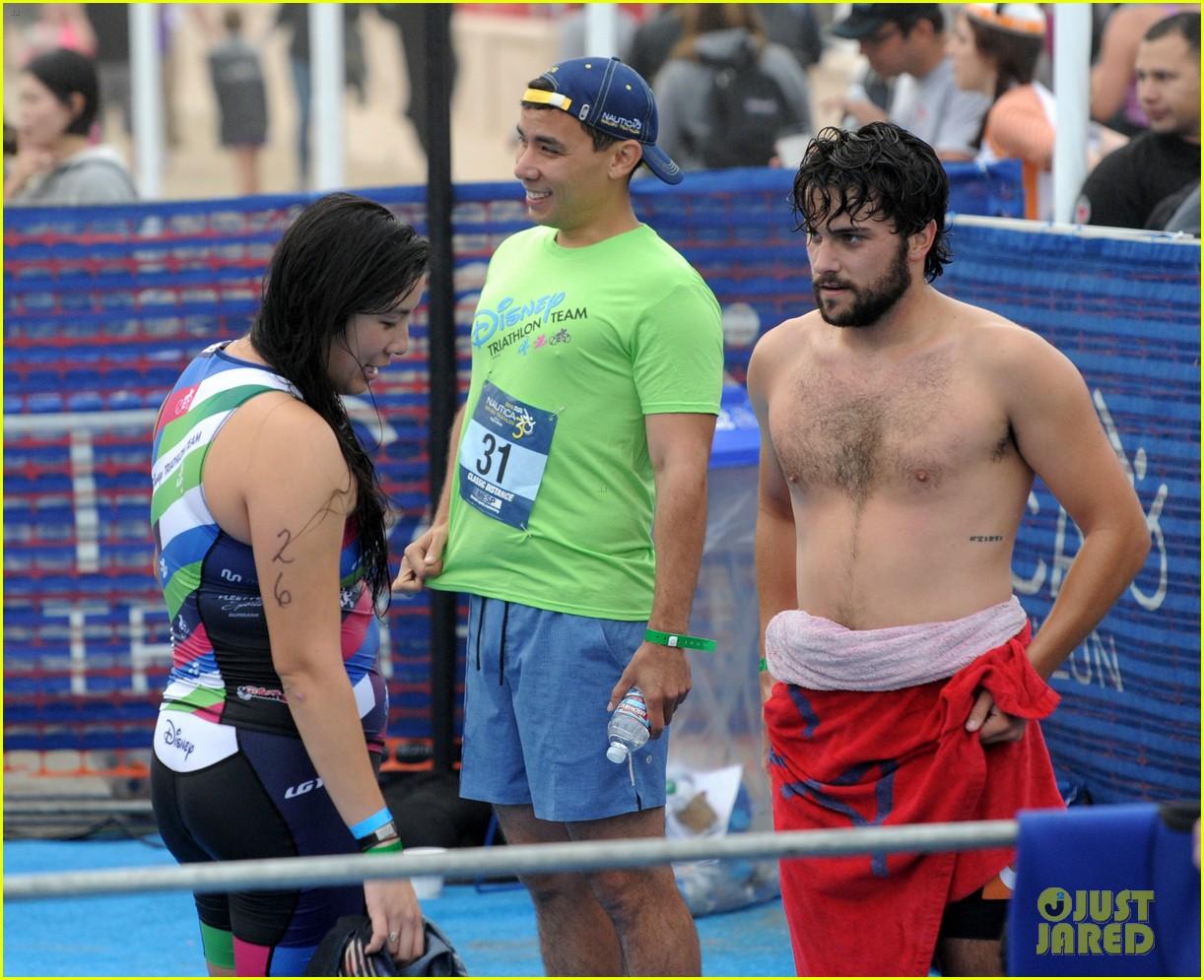 james marsden zac efron among celebs malibu triathlon 093763372