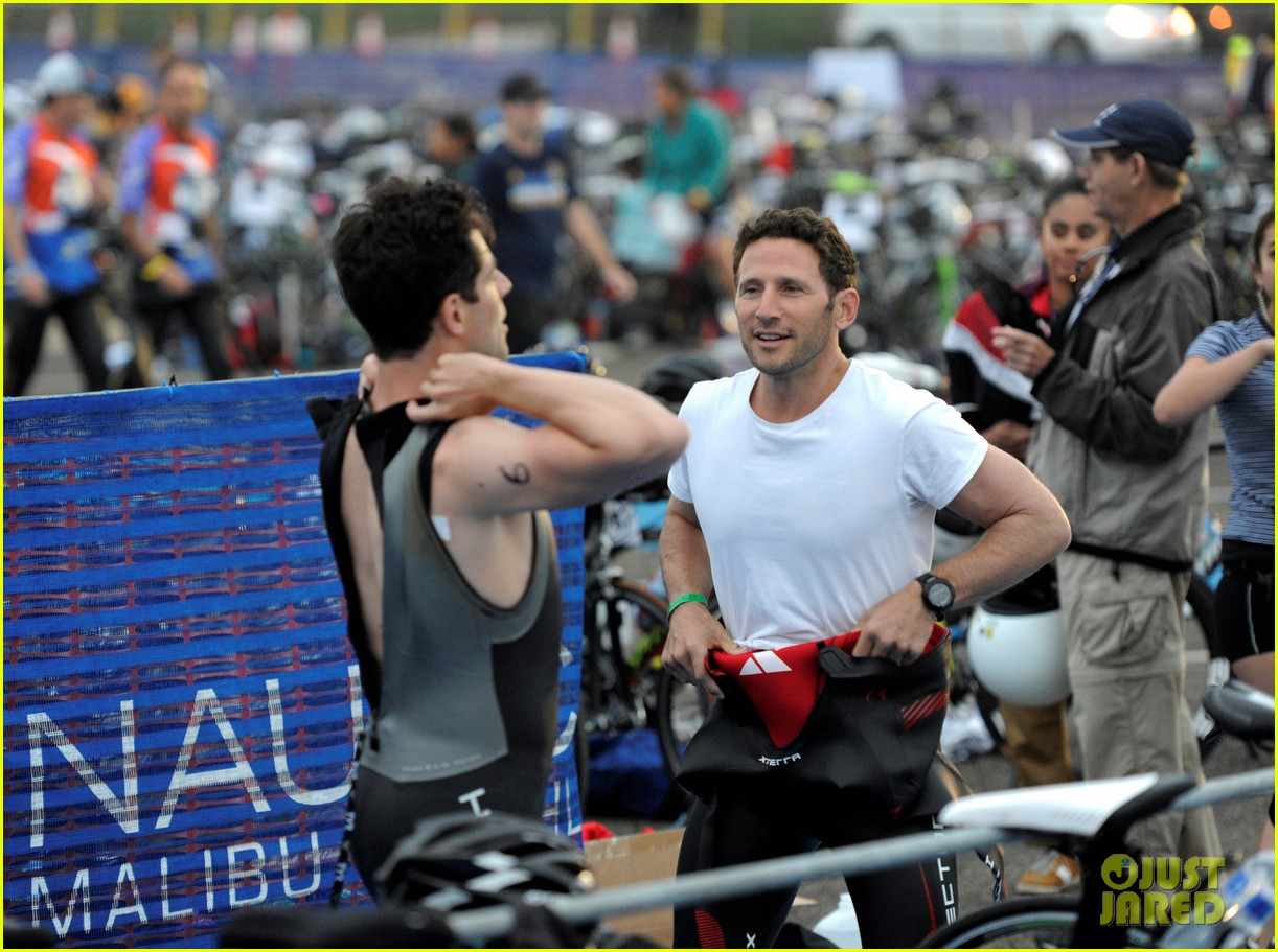 james marsden zac efron among celebs malibu triathlon 153763378