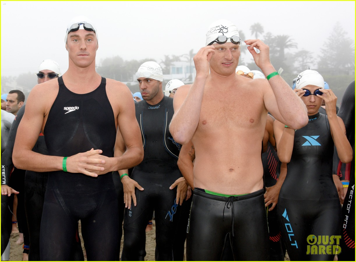 james marsden zac efron among celebs malibu triathlon 203763383