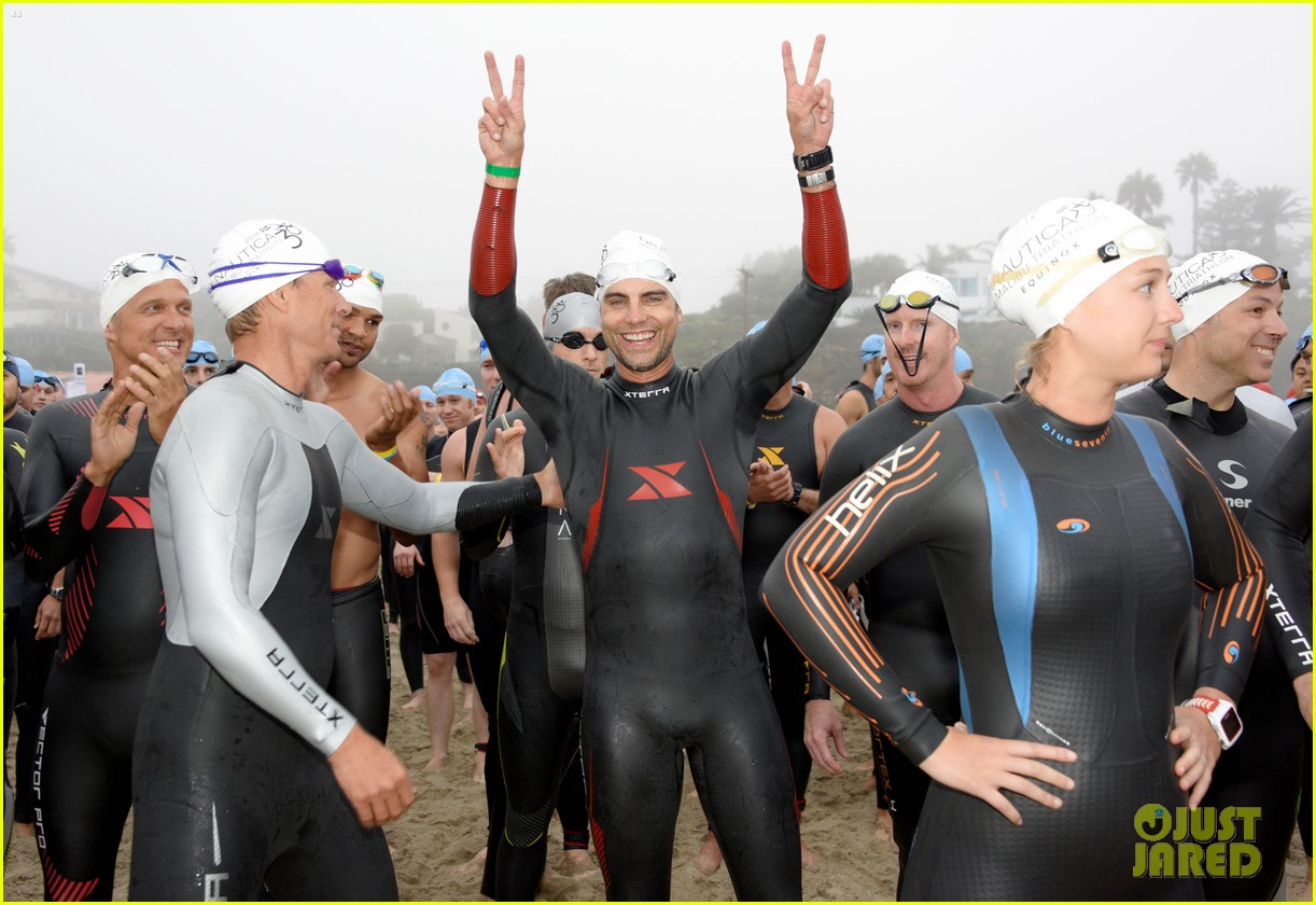 james marsden zac efron among celebs malibu triathlon 243763387