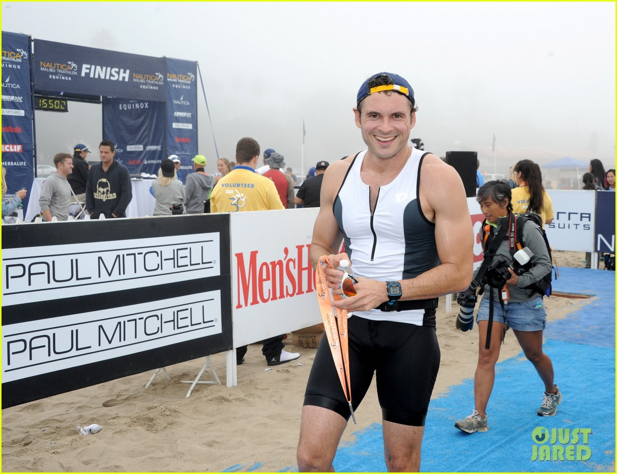 james marsden zac efron among celebs malibu triathlon 563763419
