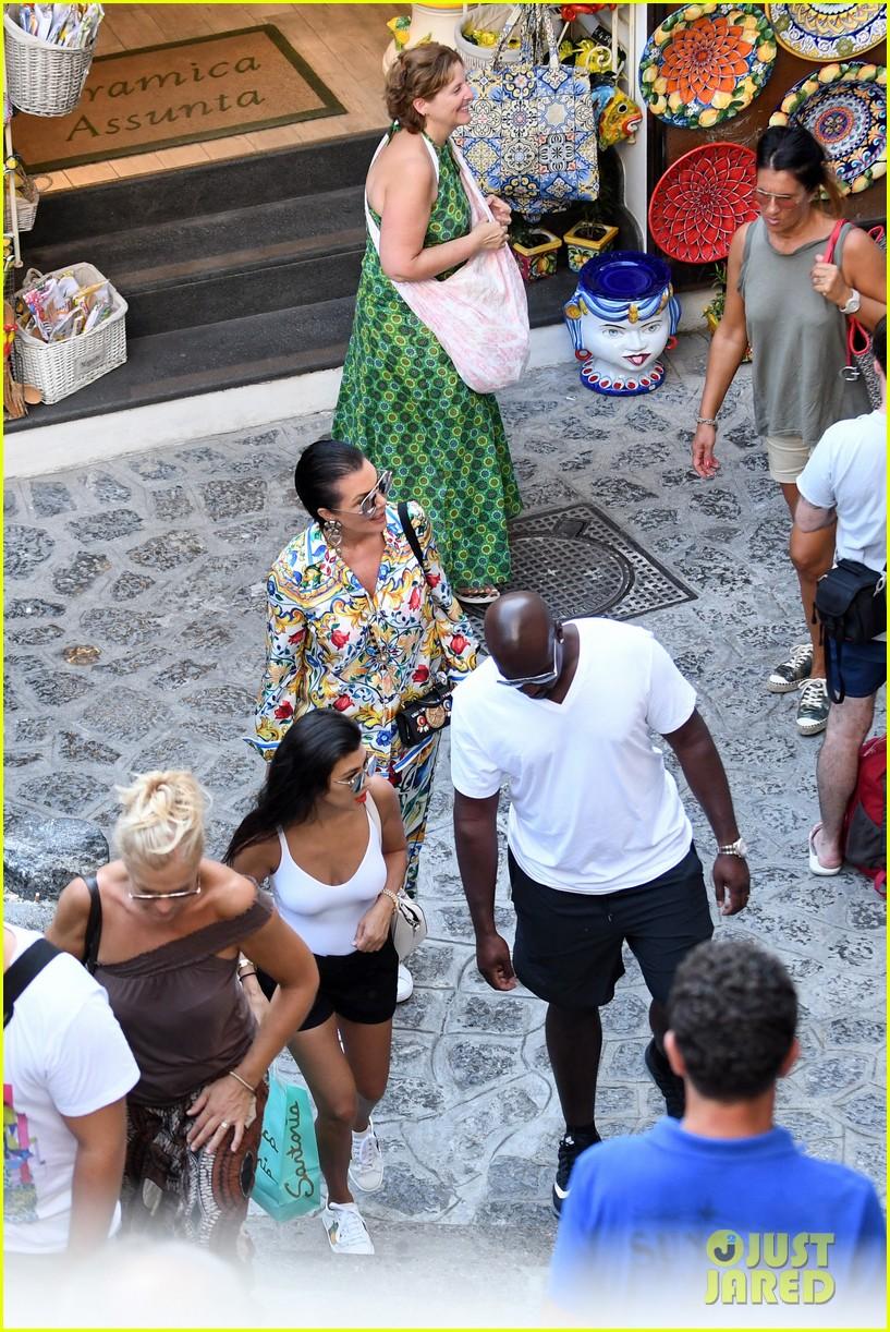 kourtney kardashian kris jenner capri vacation 343749604