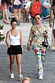 kourtney kardashian kris jenner capri vacation 21