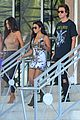 kim kourtney and khloe kardashian enjoy their friday in miami 14