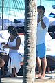 kourtney kardashian and scott disick hang out poolside together 04
