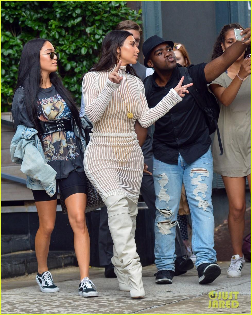 kim kardashian style yeezy