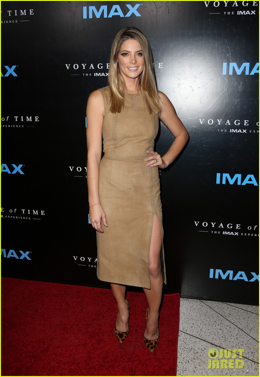 rachel mcadams brittany snow ashley greene step out for voyage of time ... Rachel Mcadams