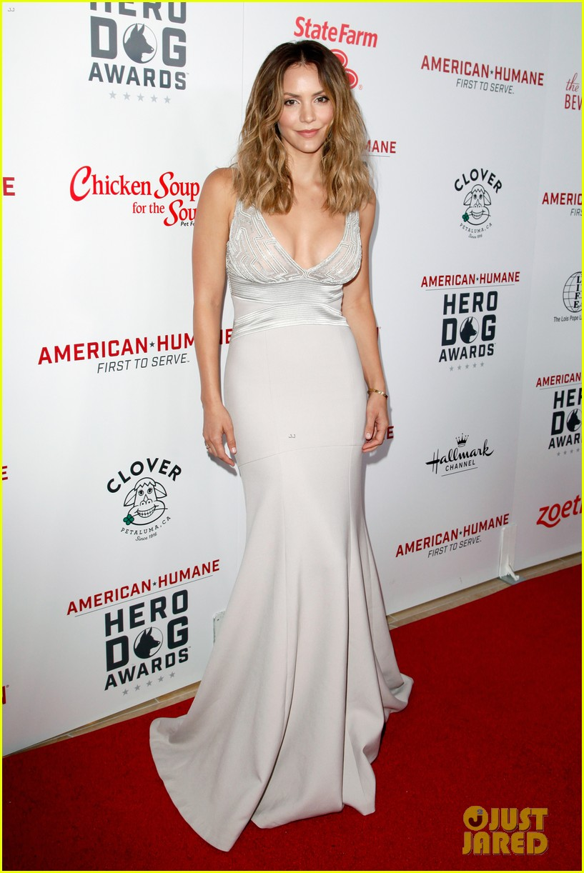 katharine mcphee shows her support at the hero dog awards 2016 063755632