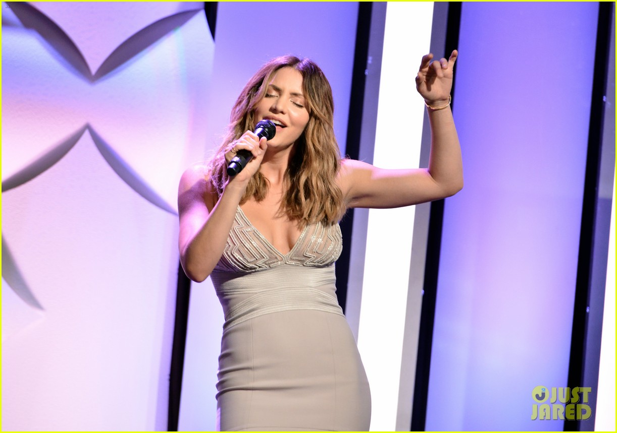 katharine mcphee shows her support at the hero dog awards 2016 313755657