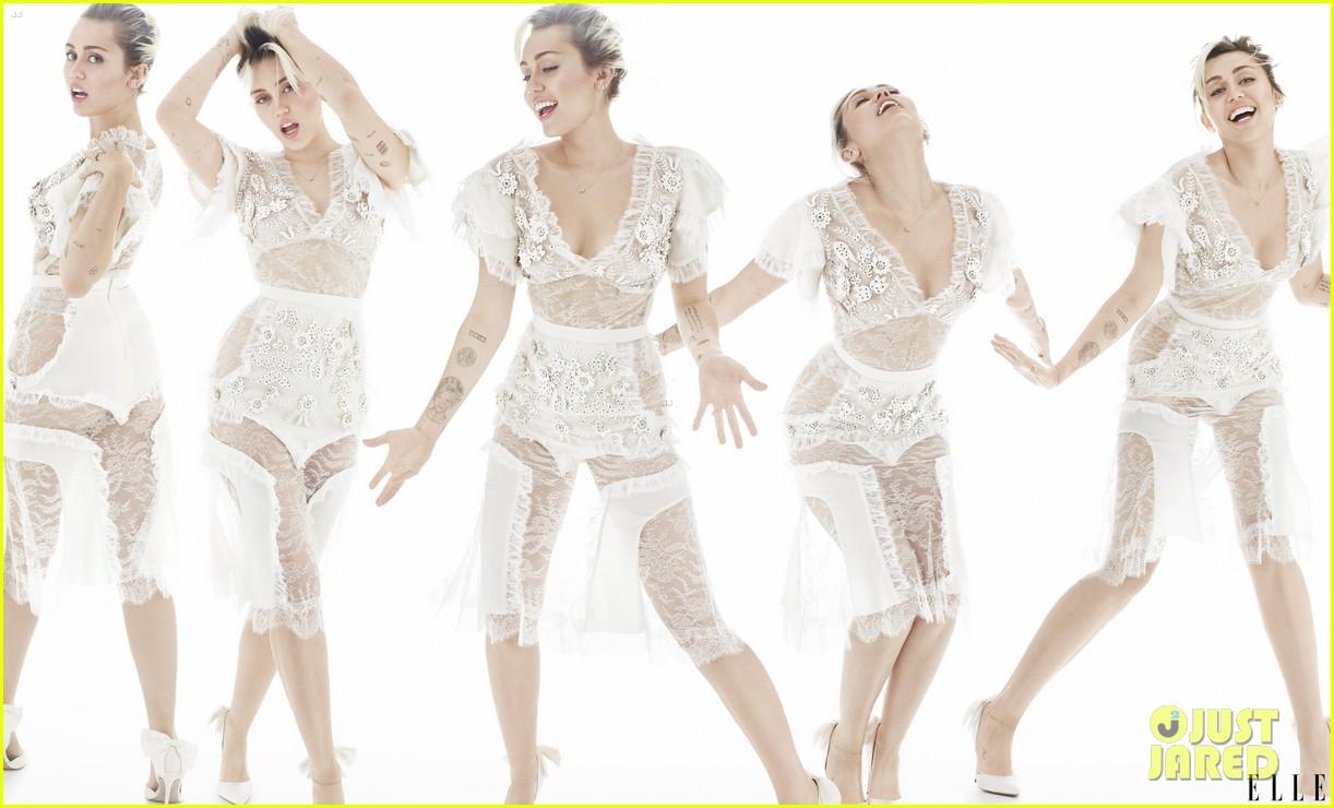 Resultado de imagem para miley cyrus elle magazine october 2016