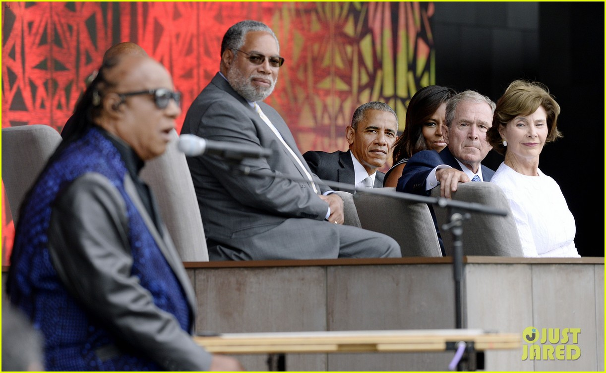 President Obama Attends National Museum Of African American