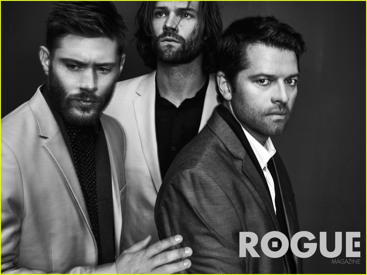 Jensen Ackles, Jared Padalecki, and Misha Collins - Rogue ...