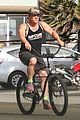 josh brolin puts his muscles on display for bike ride 01
