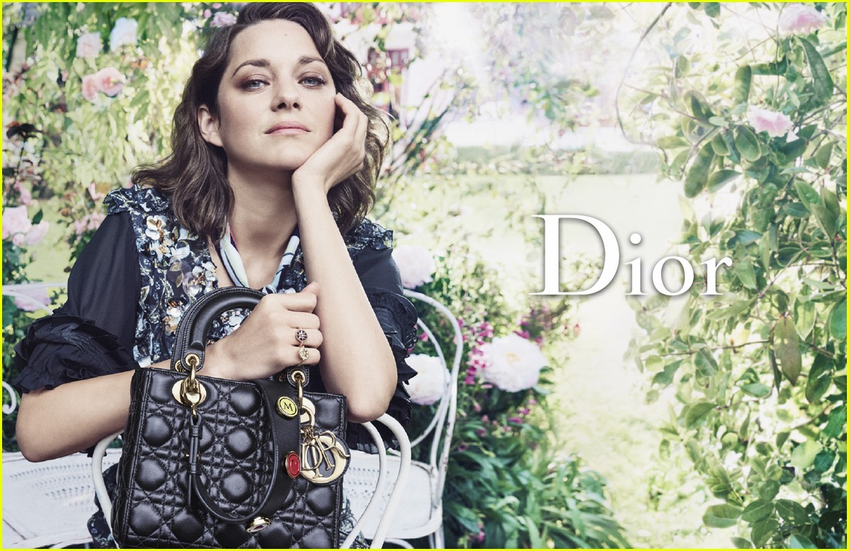 photo Marion Cotillard Stuns in Lady Dior's Resort 2019 Ad Campaign