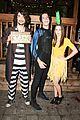 zoey deutch taissa farmiga meet at just jared halloween party 10