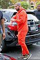 drake wears orange sweats for lunch 14
