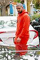 drake wears orange sweats for lunch 17