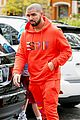 drake wears orange sweats for lunch 21