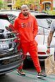 drake wears orange sweats for lunch 22
