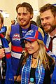 chris hemsworth liam hemsworth afl finals 04