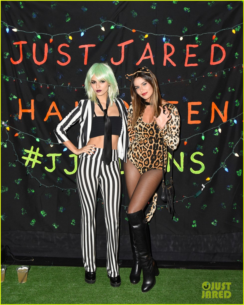 Victoria Justice Dresses as Beetlejuice, Keke Palmer Turns Into ...