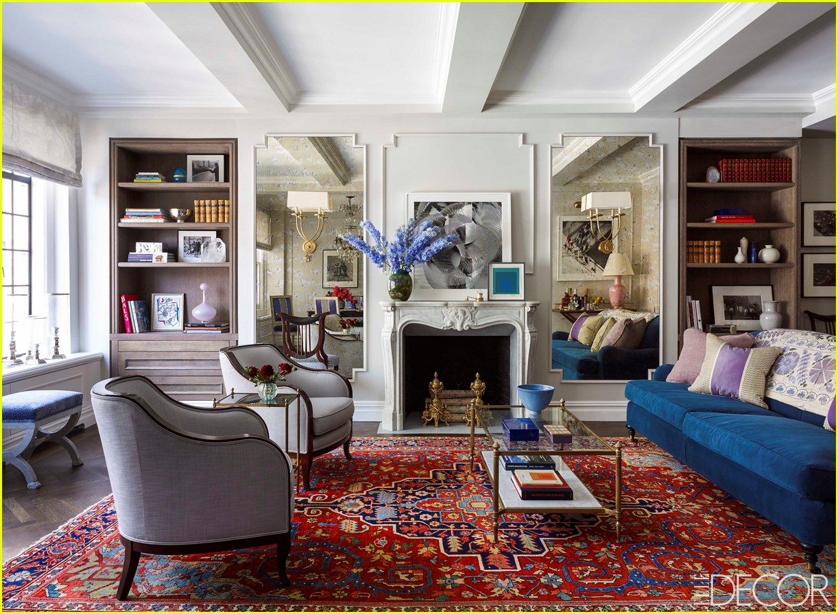 Full sized photo of emmy rossum elle decor nyc apartment for Apartment decoration photos