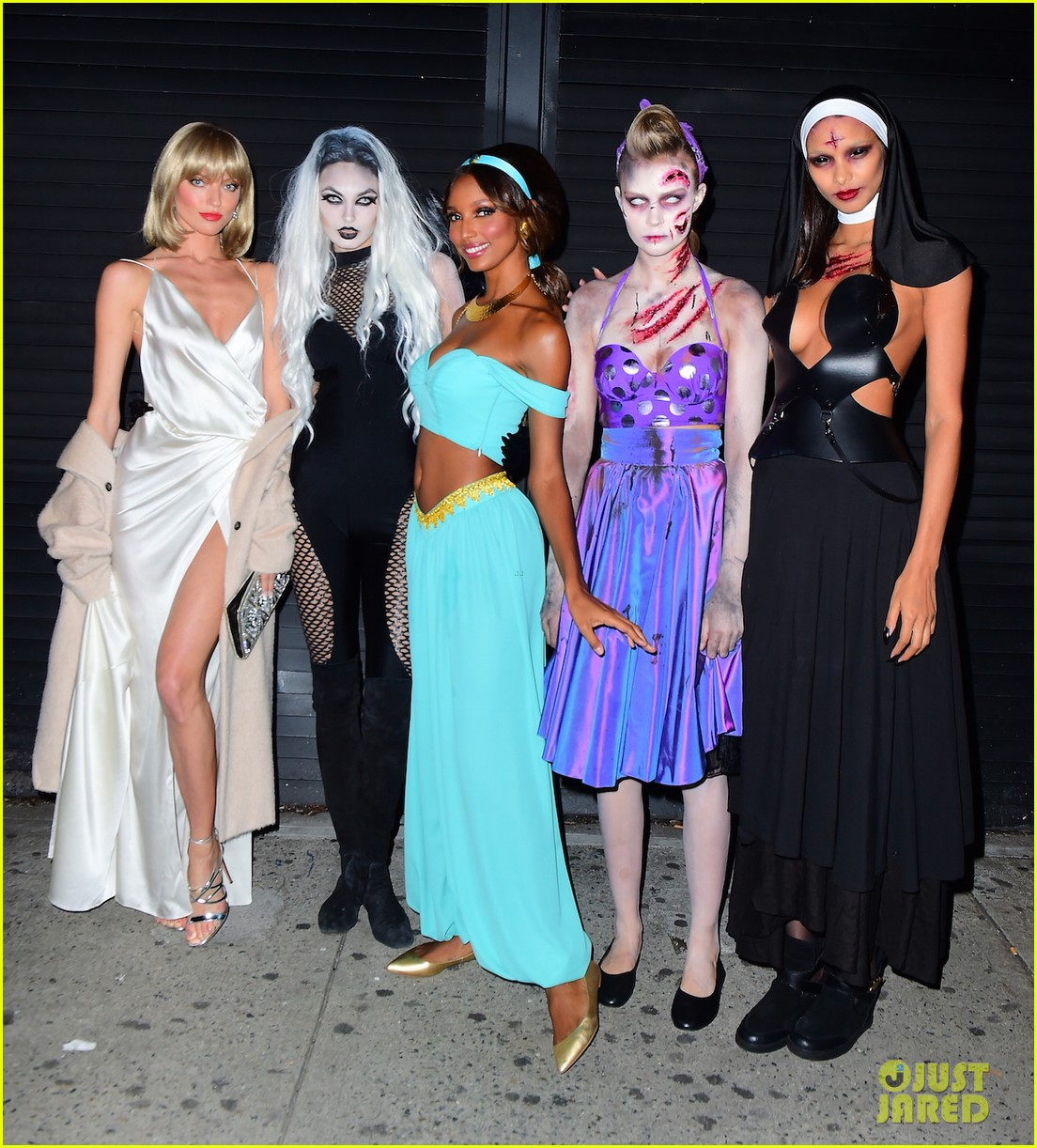 Victoria's Secret Angels Dress Up for Halloween Weekend 2016 ...