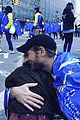 drew barrymore daughters support dad will kopelman at nyc marathon 03