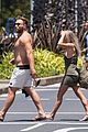 jai courtney looks so hot while shirtless with girlfriend mecki dent 19