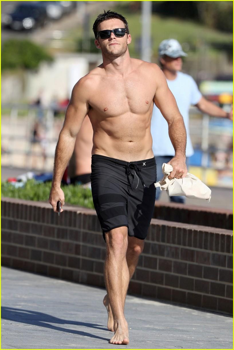 Full Sized Photo of scott eastwood shirtless beach ... Mark Wahlberg