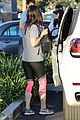 megan fox stays comfy in workout gear at the movies 18