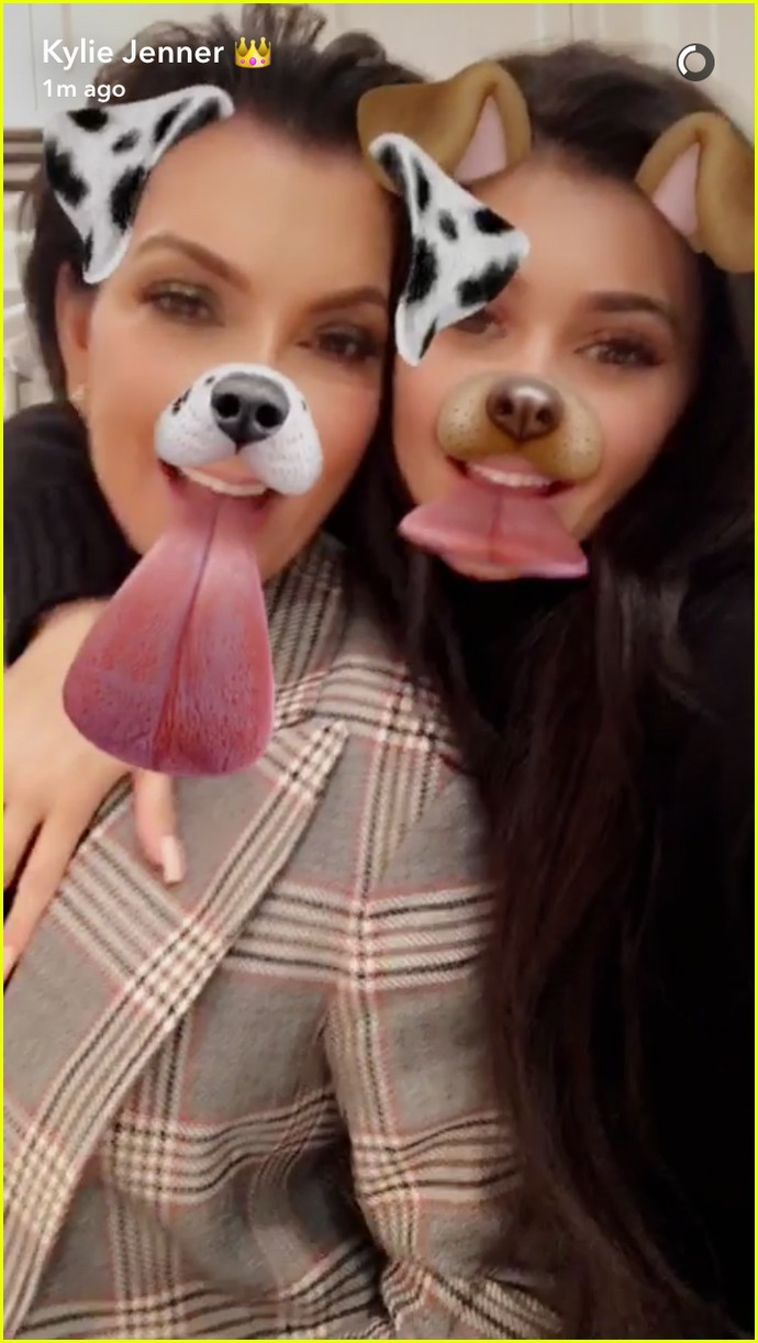 Kendall Jenner And Kylie Jenner At
