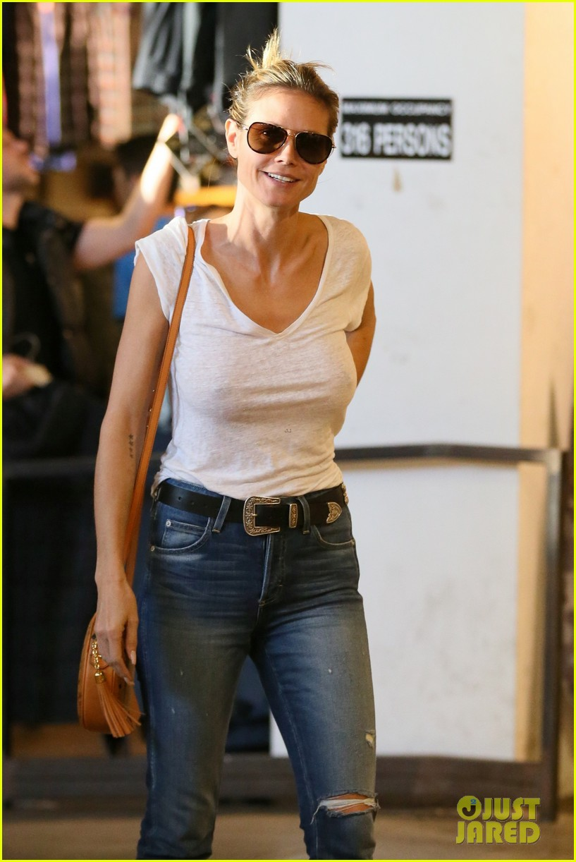 Heidi Klum Amp Ex Husband Seal Take Their Kids Shopping For