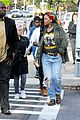 rihanna returns to the set of oceans eight 06