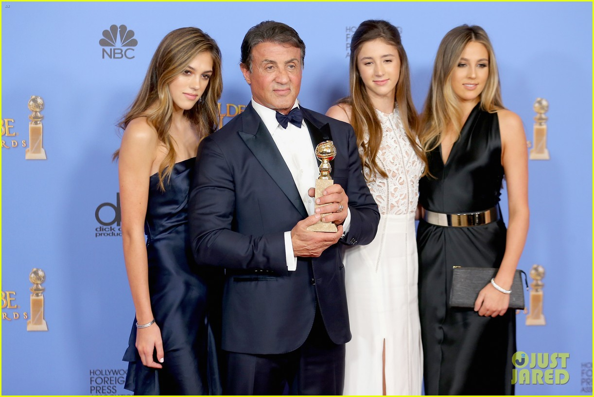 Sylvester Stallone's Daughters Selected as Miss Golden ...