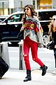 taylor hill heads to a victorias secret fashion show fitting 08