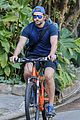 bradley cooper goes on bike ride for his daily workout 11