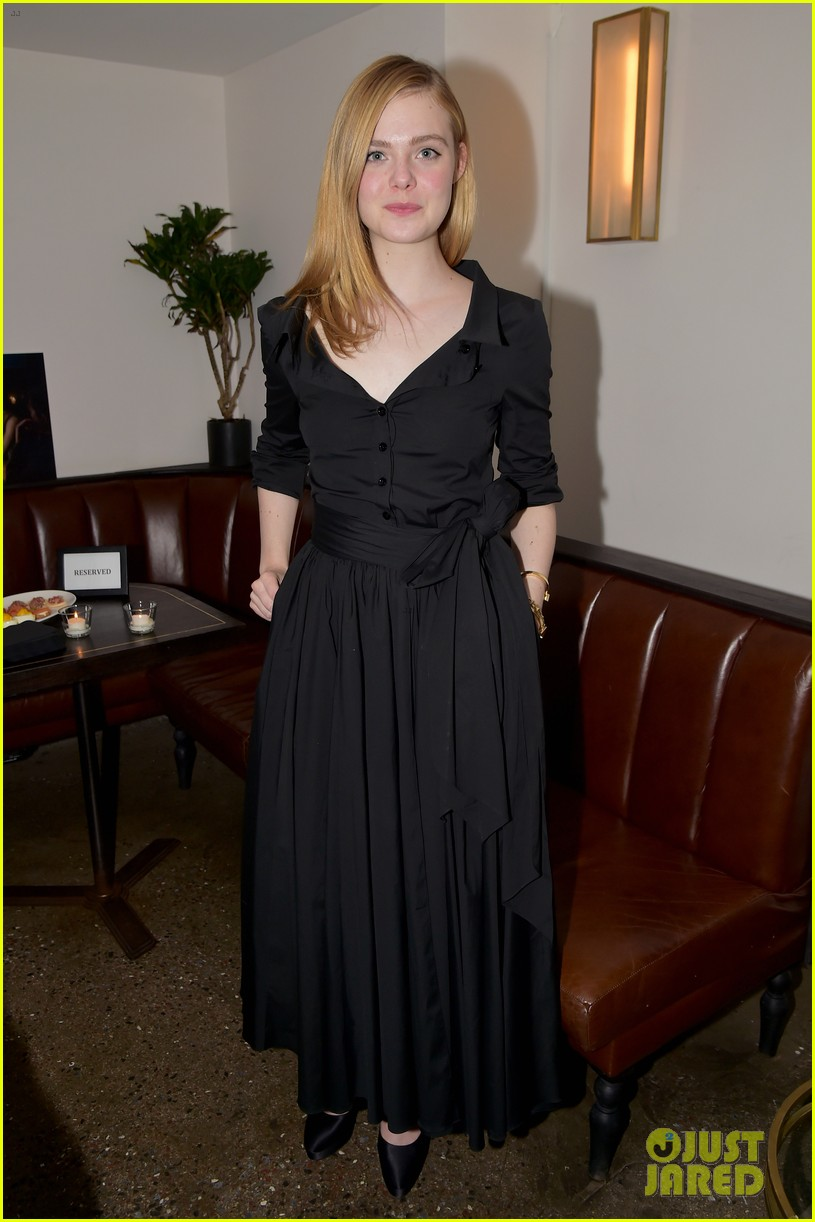 Full Sized Photo of elle sienna ben attend live by night ...