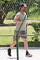 matthew mcconaughey gets in a workout in brazil 25