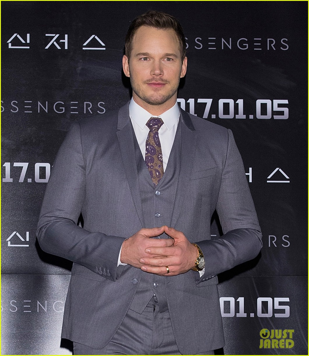 jennifer lawrence chris pratt had to be shushed a lot on set of passengers 023829359