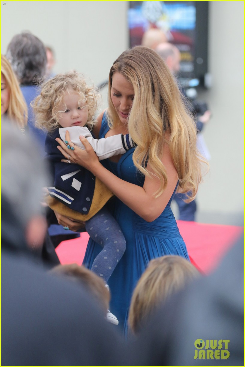 On Thursday Deadpool actor Ryan Reynolds was honored with his own star on the Hollywood Walk of Fame and sitting front row was wife Blake Lively and