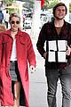 emma roberts and evan peters step out to mail their christmas gifts 03