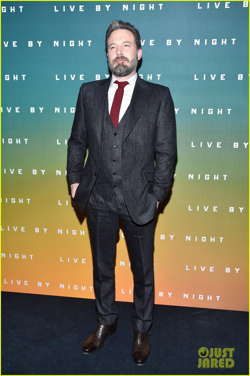 ben affleck live by night paris premiere 043843241