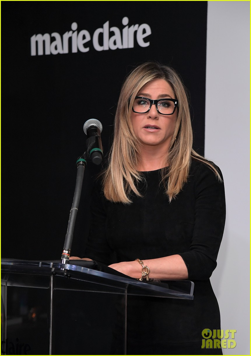 Jennifer Aniston Supports Hairstylist of the Year Chris