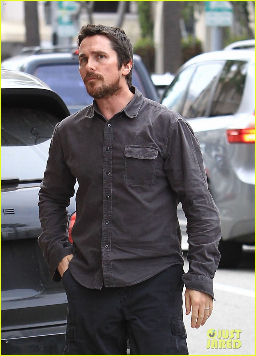 christian bale sibi blazic hold hands stroll around town 113844948