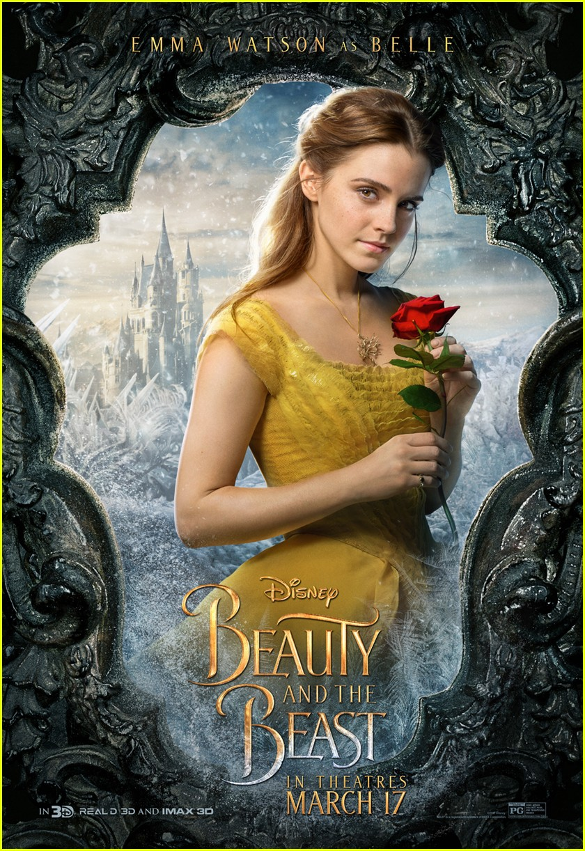 beauty beast character posters movie 023848176