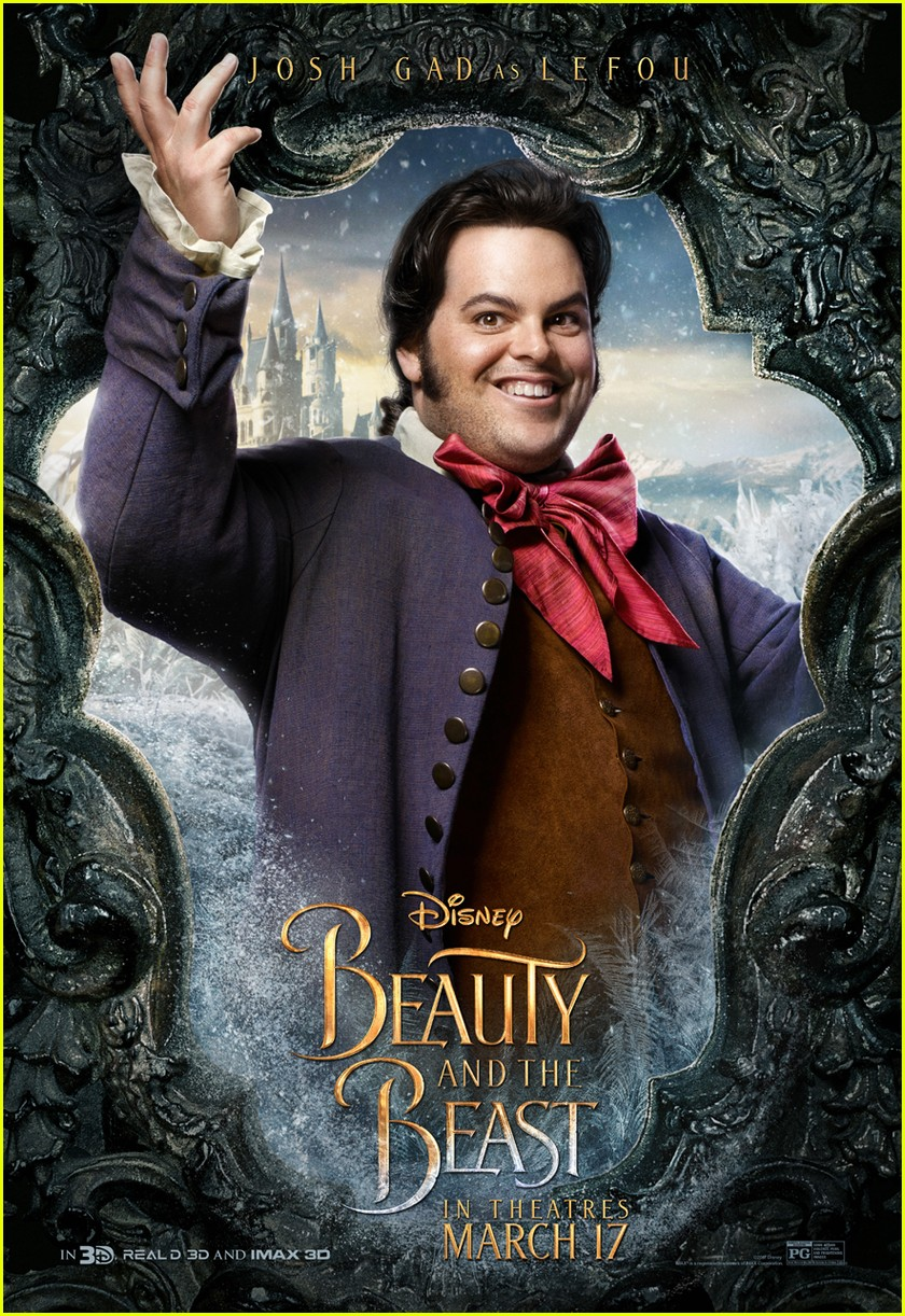 beauty beast character posters movie 053848179